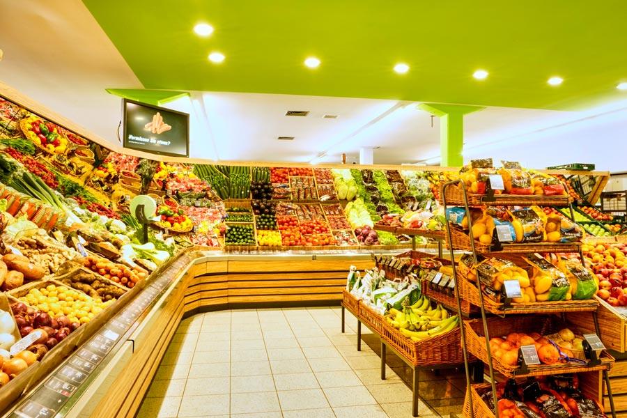 Obst und Gemüse bei EDEKA in Rottach-Egern