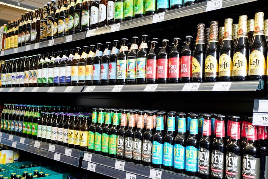 Bier aus der Region München